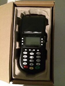 Hypercom Optimum T4205 Dial Credit Card Terminal