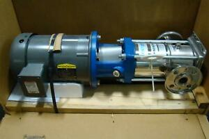 Ap Aurora Pentair Water Stainless Pump Pvm4i 60 1 1 4 3hp Baldor Reliance 230 4