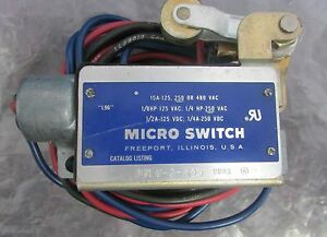Micro Switch Snap Action Limit Switch Bzln 2 Rh5
