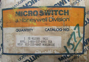 Honeywell Micro Switch Fe Mls5rb Infrared Photoelectric Control