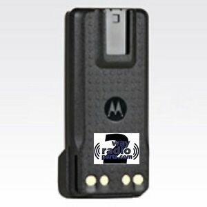 Real Motorola Slim Liion Battery Mototrbo Xpr7550 Xpr3500 Xpr3300 Pmnn4406ar New