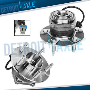 2 Rear Wheel Bearing Hub For 05 06 Chevy Equinox 02 07 Saturn Vue W Abs