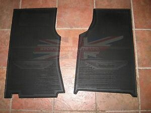 New Set Of Amco Style Rubber Floor Mats Austin Healey 100 6 3000
