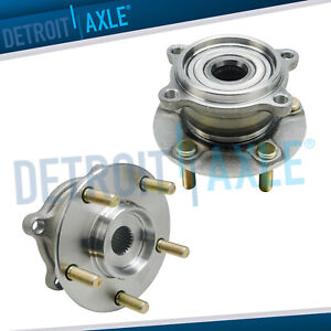 2 Rear Wheel Bearing And Hub For 2004 2011 Mitsubishi Endeavor Fits Awd Only