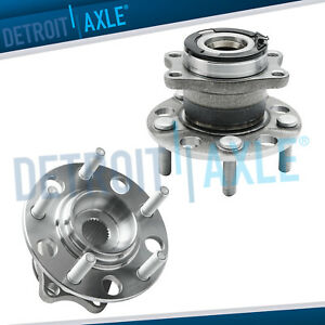 2 Rear Wheel Bearing Hubs Assembly Jeep Compass Patriot Wheel Bearings Hub Awd