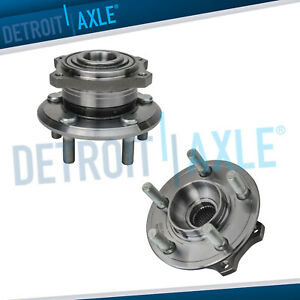 Set 2 Rear Wheel Hub And Bearing Assembly For Chrysler 300 Charger