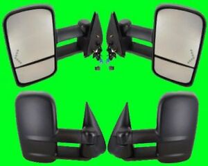 2005 2006 Chevrolet Silverado 2500 3500 Hd Lh rh Side Extend Tow Mirror Pair New