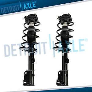 08 17 Dodge Grand Caravan Chrysler Town And Country 2 Front Struts Coil Spring