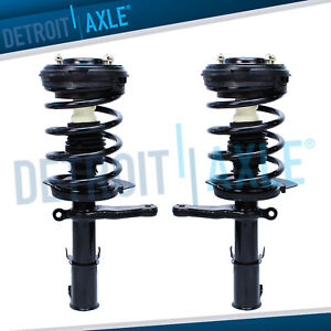 2 Front Strut Coil Spring For 1999 2000 2001 2002 2003 2003 Chrysler 300m