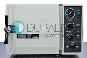 Tuttnauer 2540mk Autoclave Steam Sterilizer Fully Refurbished 6 Month Warranty