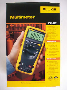 Fluke Digital Multimeter 77 iv 77 4 1000v Ac dc Automotive Industrial New In Box