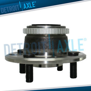 Rear Driver Or Passenger Wheel Hub And Bearing Assembly Disc Brake W Abs