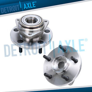 1999 2003 2004 Jeep Grand Cherokee Front Wheel Bearing Hub Assembly Pair
