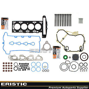 Full Gasket Set Head Bolt 07 08 Gm Ecotec Cobalt Hhr Malibu 2 2l Z22se L61