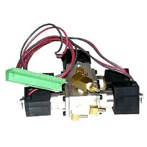 Smc Five Pneumatic Solenoid Valve Assembly 04t018