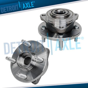 2 Front Wheel Bearing Hub 2003 2010 Chevy Cobalt Saturn Ion G5 4 Lug No Abs