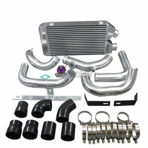 Cx Same Side Fm Intercooler Kit W Bov For Nissan S13 S14 240sx Rb20 Rb25 Rb25det