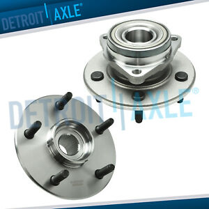 Front Wheel Bearing Hub Set For 2002 2003 2004 2005 Jeep Liberty W o Abs