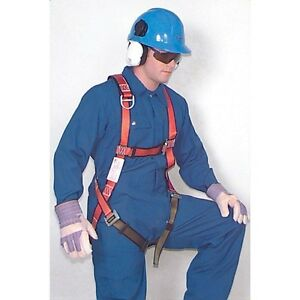 North By Honeywell Full Body Safety Harness Sliding D ring Medium Fp700 1edm