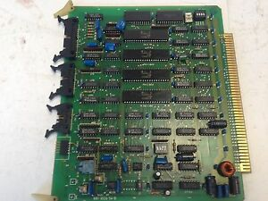 Used Japax Mwi a524 54 b Edm Pc Board Di