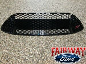 13 Thru 14 Focus St Oem Genuine Ford Parts Gloss Black Grill Grille W St Emblem
