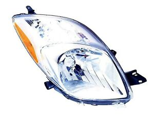 2007 2008 Toyota Yaris Hatchback New Right Passenger Side Headlight Assembly