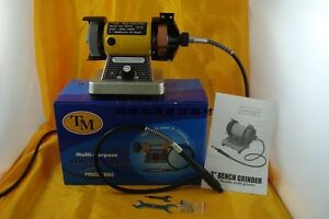 Multi use Polisher sander grinder 3 Bench Grinder W Flexible Shaft Grinder