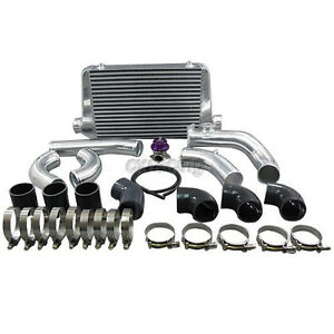 Cxracing Bolt on Front Mount Intercooler Piping Kit For 84 91 Bmw E30 3 series