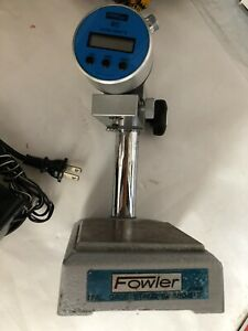 Used Fowler Ultra digit Ii Inspection Height Gage Stand 52 580 015 Dj