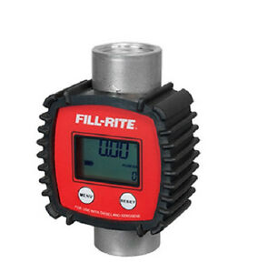 Tuthill Fill Rite Fr1118a10 1 In Line Digital Fuel Diesel Meter Electronic