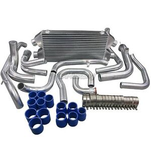 Cx Dual Core Twin Turbo Intercooler Kit For 90 01 Mit 3000gt Gto Dodge Stealth