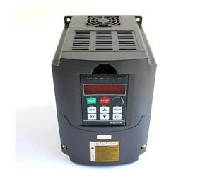 Cnc Variable Frequency Drive Inverter Vfd Usa 110v 1 5kw