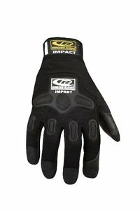 New Work Glove Ringers Gloves 143 13 Impact Black Xxx large Protective Construct