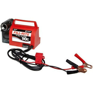 Tuthill Fill Rite Fr1612 Portable 12v Dc Battery Fuel Transfer Pump