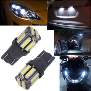 4pcs Hid White 18 cob Led Panel For Car Truck Interior Map Dome Door Trunk Light