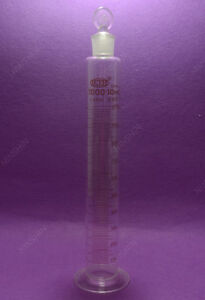 1000ml ground Joint Measuring Cylinder With Solid Stopper laboratory Glassware