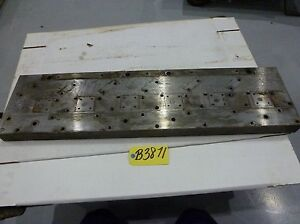 Work Holding Mounting Plates steel Multi Threaded 38 1 4 x 10 x 2