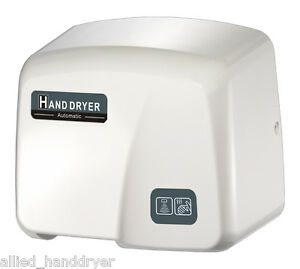 Hk1800pa Fastdry Automatic Hand Dryer With Free Wall plug Surface Mounted