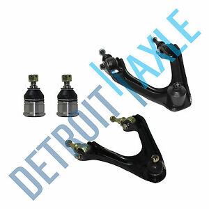 New 4pc Front Upper Control Arms W Ball Joints Lower Ball Joints For Acura Cl