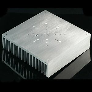 Aluminum Alloy Heat Sink For 100w Led With Thermal Compound 6 7x6 7inch