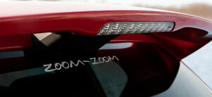 Zoom Zoom Sticker Decal Mazda Mazdaspeed 3 6 Protege Miata