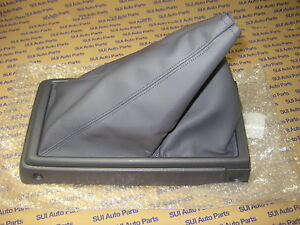 Toyota Tacoma 4x4 5spd Leather Console Shift Boot New Oem 1995 2000 Blue Gray