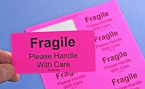 Fragile Labels Please Handle With Care Thank You 250 Label Stickers Fragile4020p