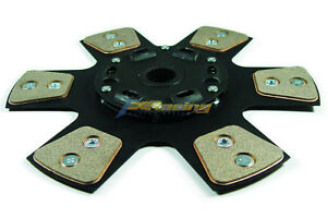 Fx Stage 3 Race Clutch Disc Plate Chevrolet Pontiac Tremec Tranny 26 Spline