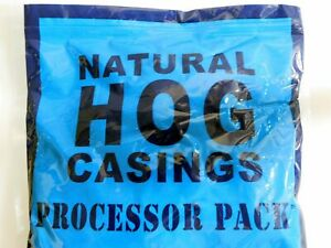 Natural Pork Hog Casings Casing For Homemade Sausage Xl Pack For 100 Lbs