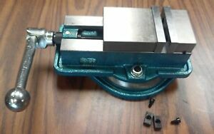 3 Ang lock Milling Machine Vise W Swivel Base 850 300 New