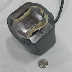 Vibratory Feeder Coil Electromagnet That Will Lift 845 Pounds 24vdc
