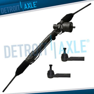 Complete Rack And Pinion 2 Outer Tie Rod Ends For Buick Pontiac Oldsmobile