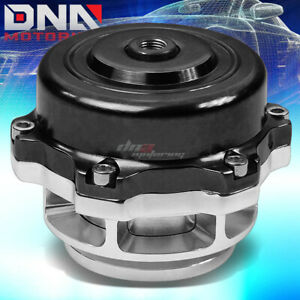50mm Aluminum Black Turbo Turbocharger Bov Blow Off Valve 35 Psi Boost Spring