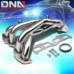 Stainless Steel 4 1 Header For 02 06 Altima L31 2 5 4cyl Qr25de Exhaust Manifold